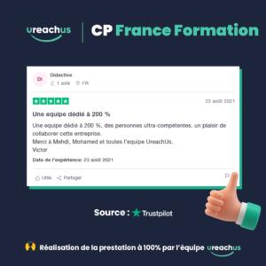 Avis CP France Formation