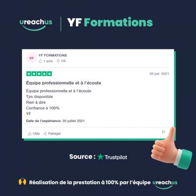 Avis YF Formations